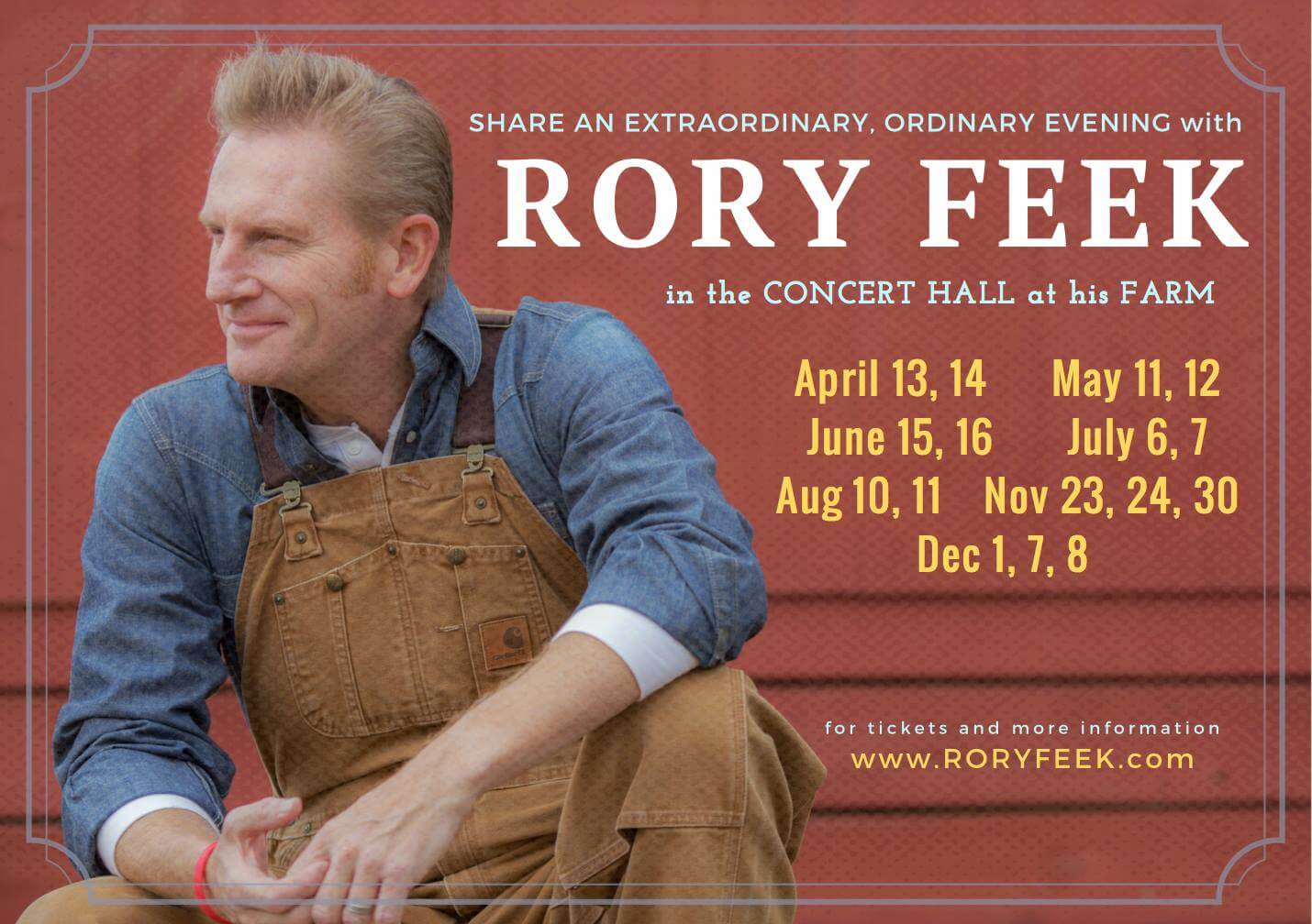 An Evening With Rory Feek