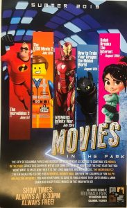 All events for Movies in the Park – Experience Maury